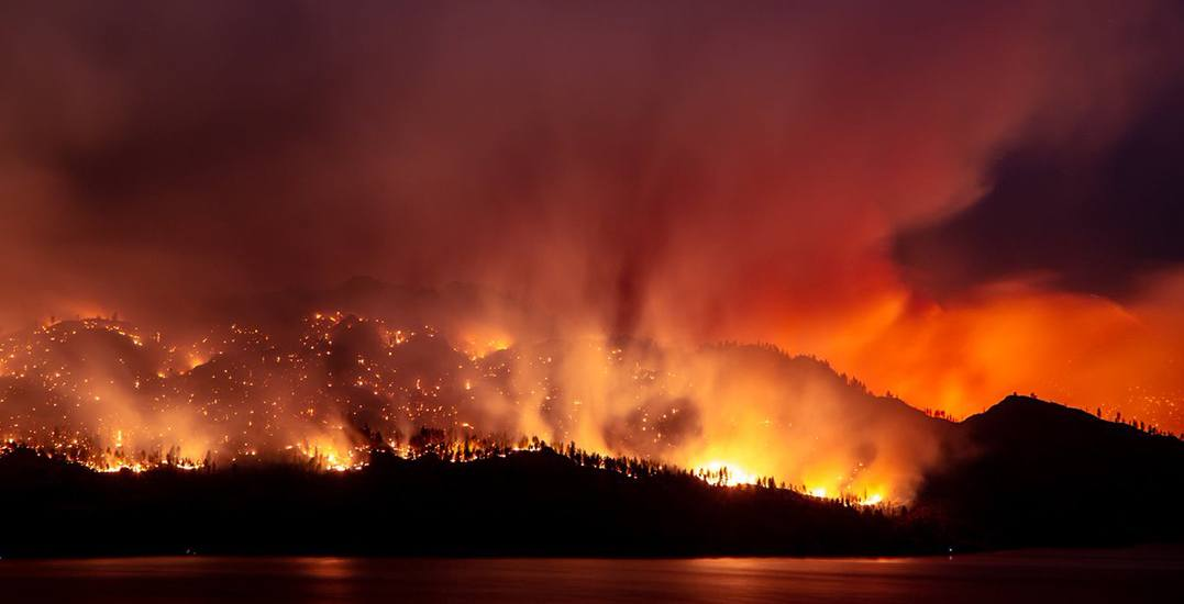 Over 1,500 residents evacuated, state of emergency declared in Okanagan