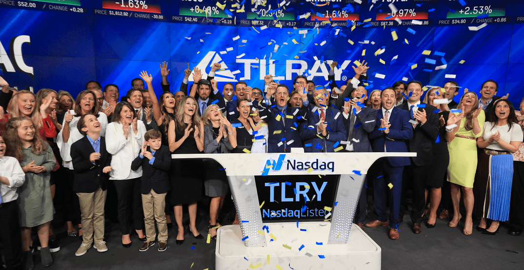 Tilray's IPO on the NA...