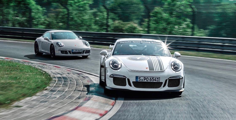 Porsche driving 1