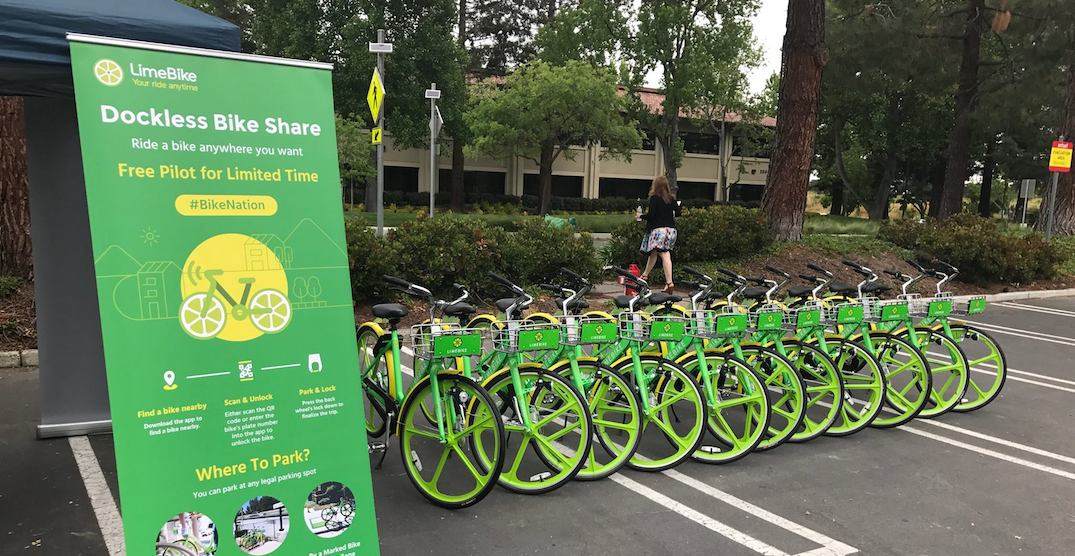 A dockless bike share system could be coming to Calgary