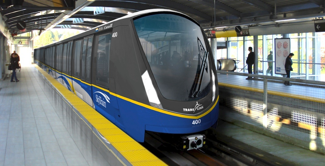Skytrain mark 3 alrt trains