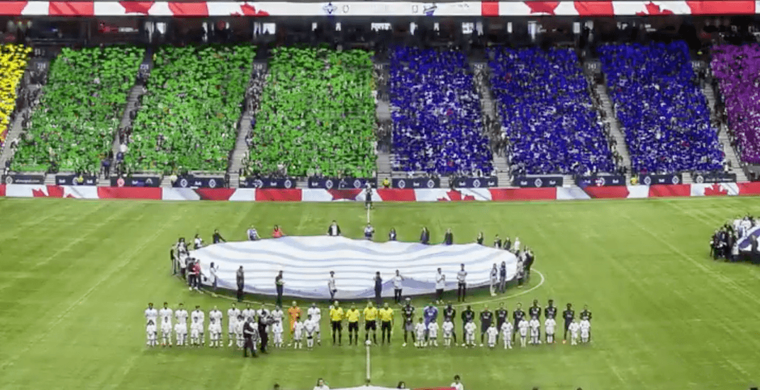 Vancouver Whitecaps are turning BC Place into a rainbow for Pride