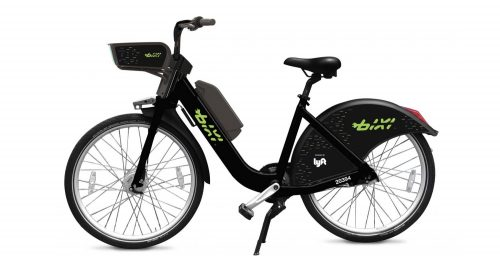 electric BIXI bikes
