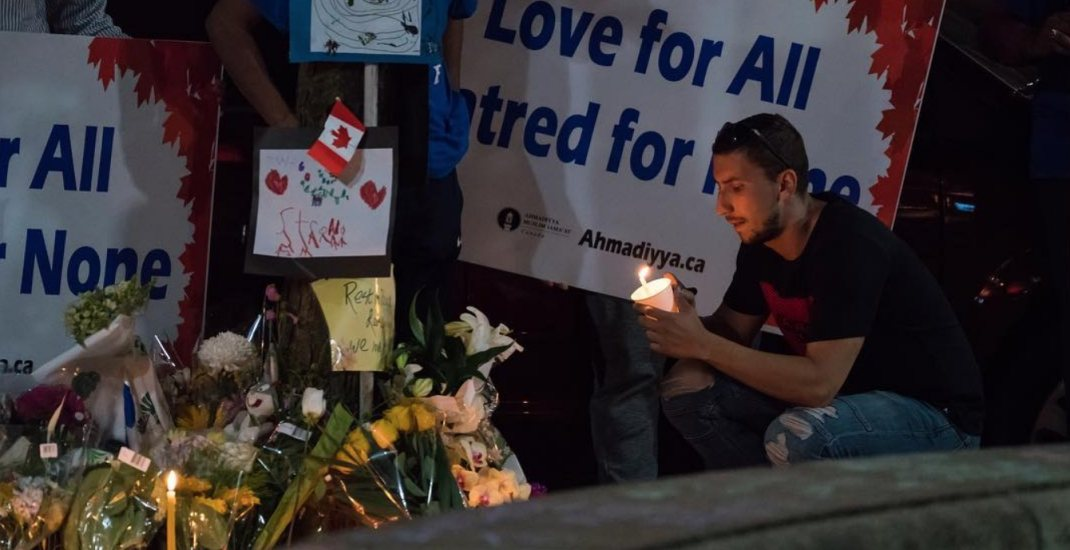 Danforth community mourns Sunday's shooting victims at vigils last night (PHOTOS)