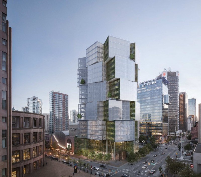 Vancouver Buildings: Opinion: Vancouver Undergoing The Largest Architectural