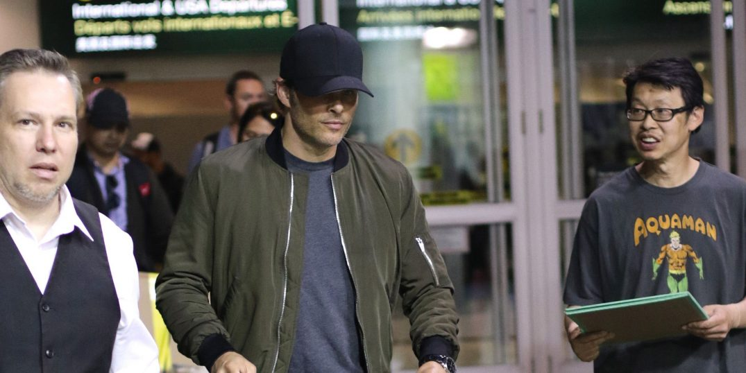 James Marsden arrives at YVR to film Sonic the Hedgehog (PHOTOS)