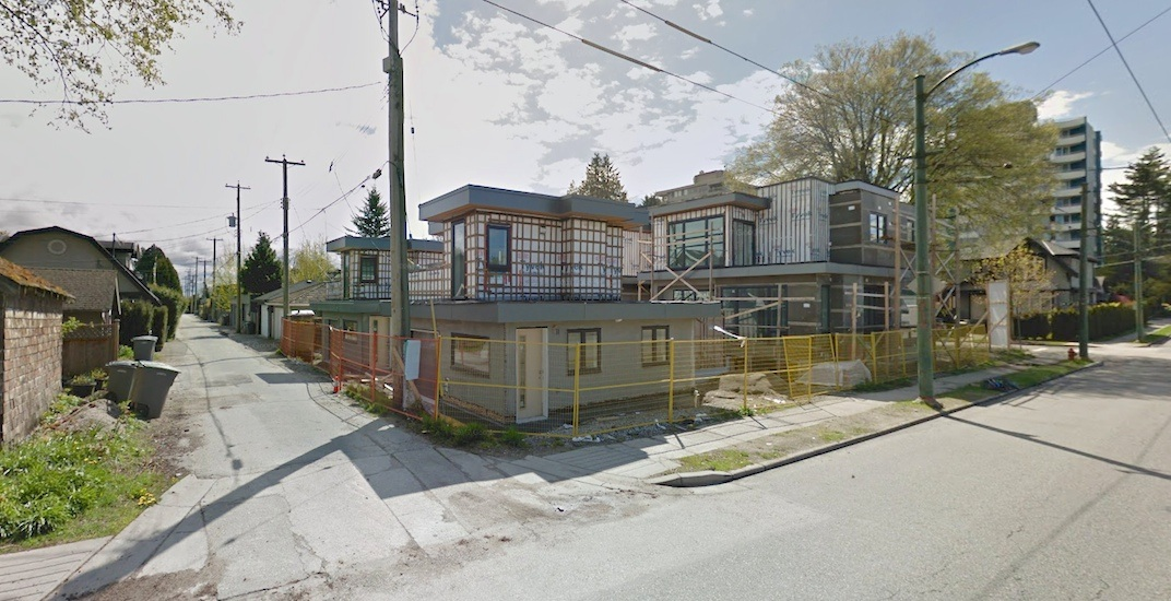Vancouver laneway homes