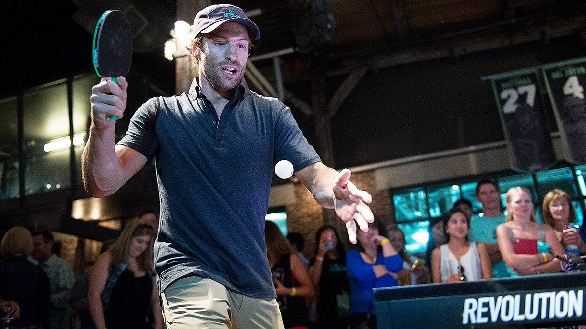 You can play ping pong with NHL stars in Toronto next week