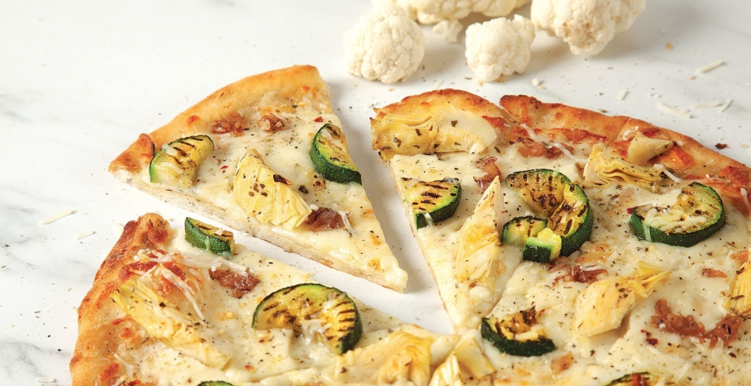 Cauliflower-crust pizza is now on the menu at Pizza Pizza