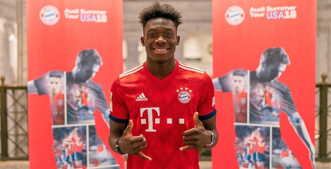 Whitecaps receive up to $22 million for Alphonso Davies in Bayern Munich transfer