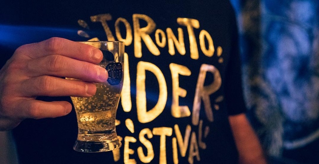 Canada's largest Cider Festival returns to the Toronto waterfront next month