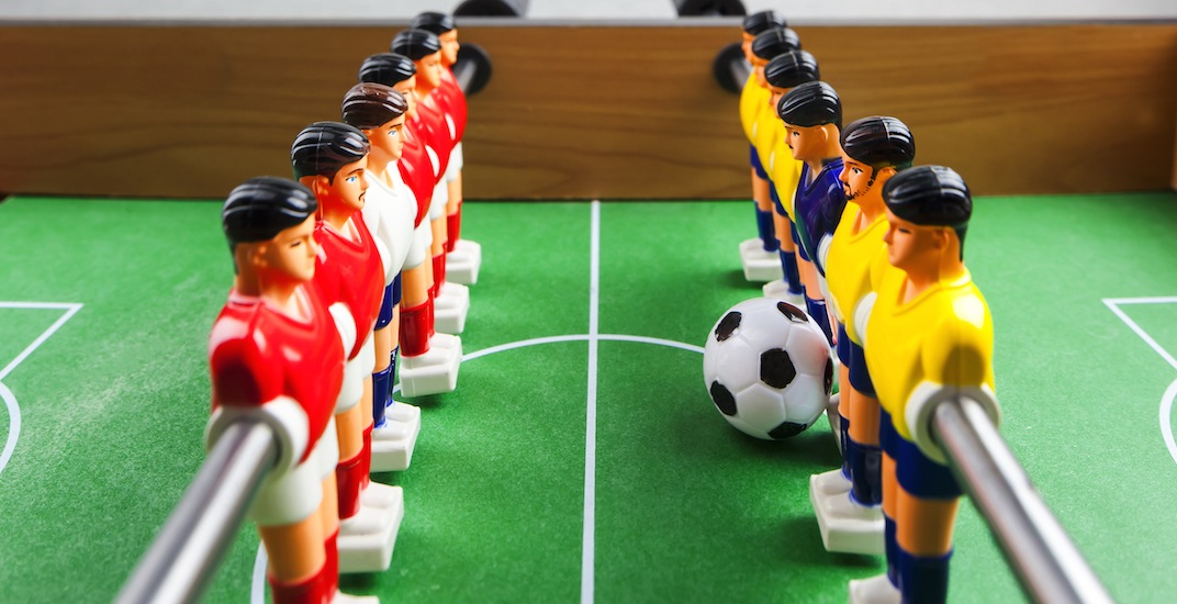 Vancouver is hosting a professional foosball tournament this weekend