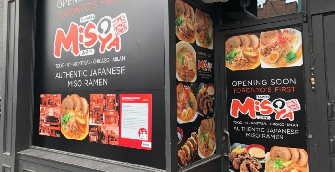 Michelin Guide recommended Ramen Misoya is opening in Toronto