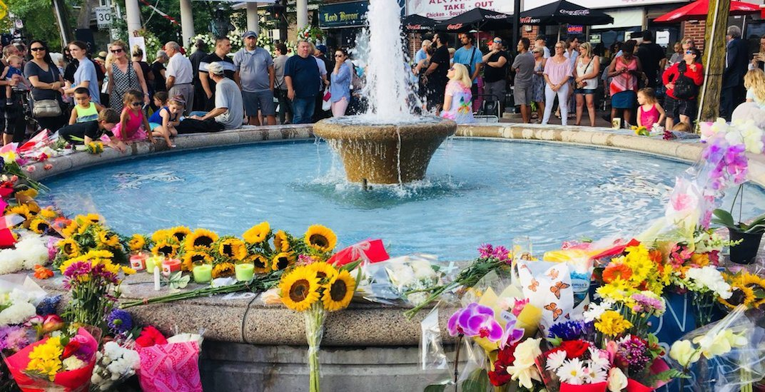 Danforth shooting victims memorial to be taken down today