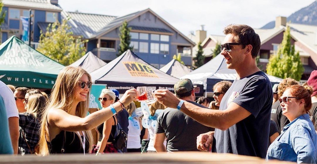 Catch a ride straight from Vancouver to the Whistler Beer Festival this year