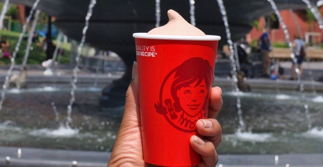 You can get 99-cent Frostys at Wendy's for the rest of the summer