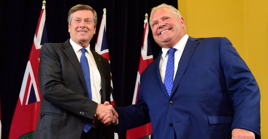Mayor Tory urges Premier Ford not to cut council in half in public letter
