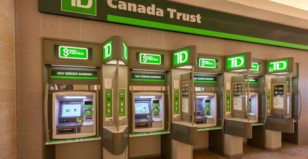 TD customers are not receiving money right now due to undisclosed bank problem