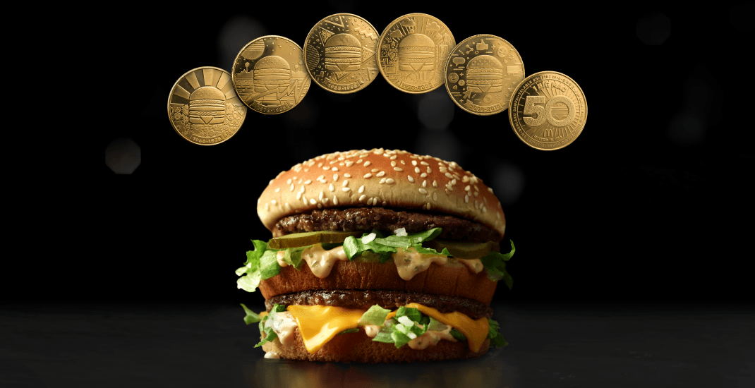 McDonald's to circulate its own currency redeemable for a FREE Big Mac