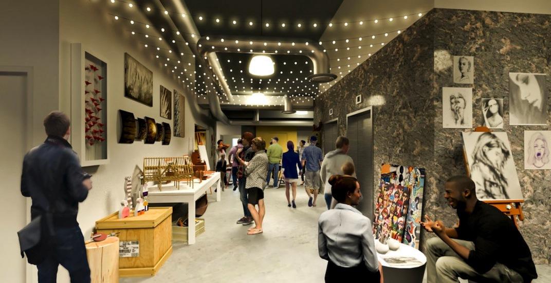Bc artscape sun wah centre interior