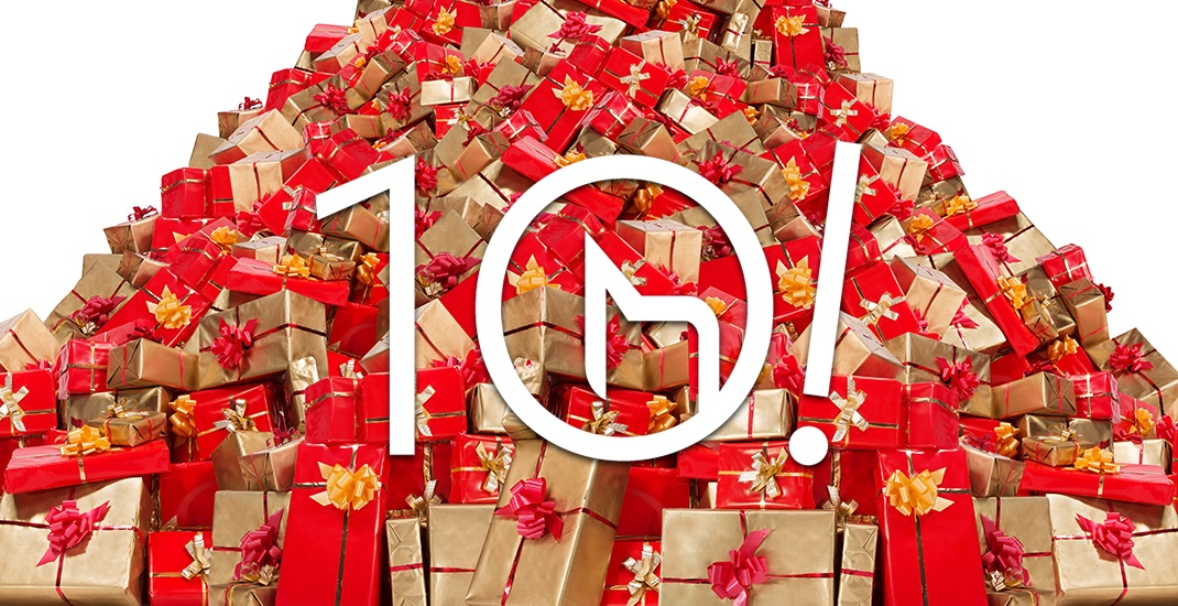 Win thousands in prizes in our 10 Days of Giveaways
