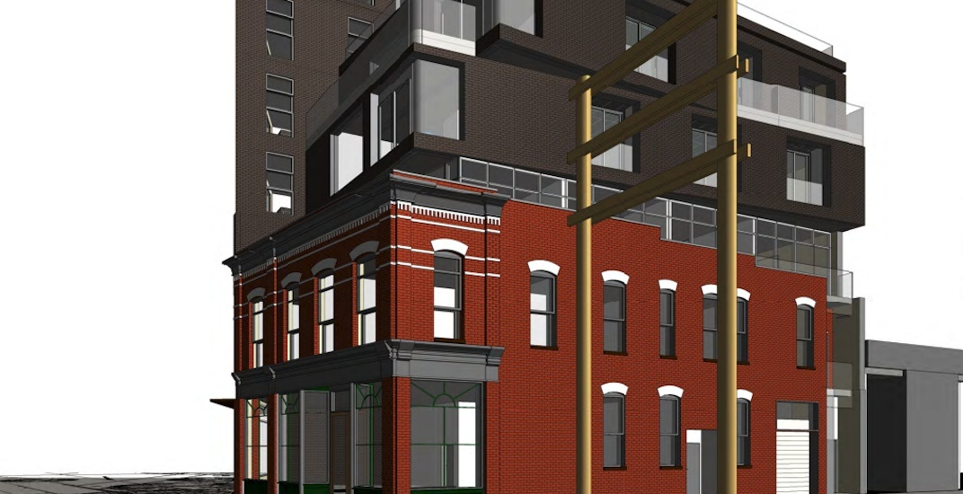 1889-built heritage building in Gastown to be restored with 7-storey addition