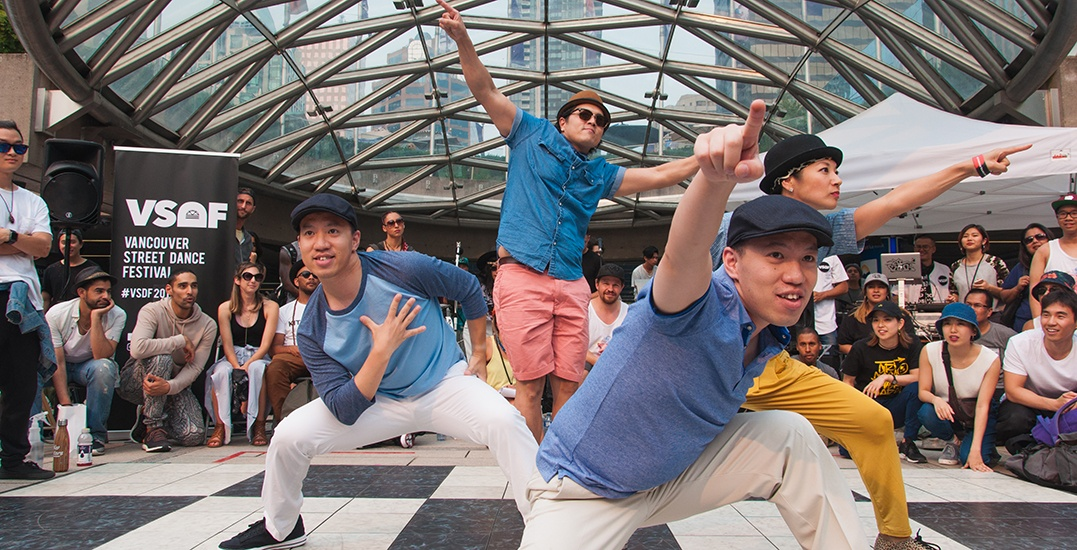 Western Canada's largest street dance festival returns to Vancouver this weekend