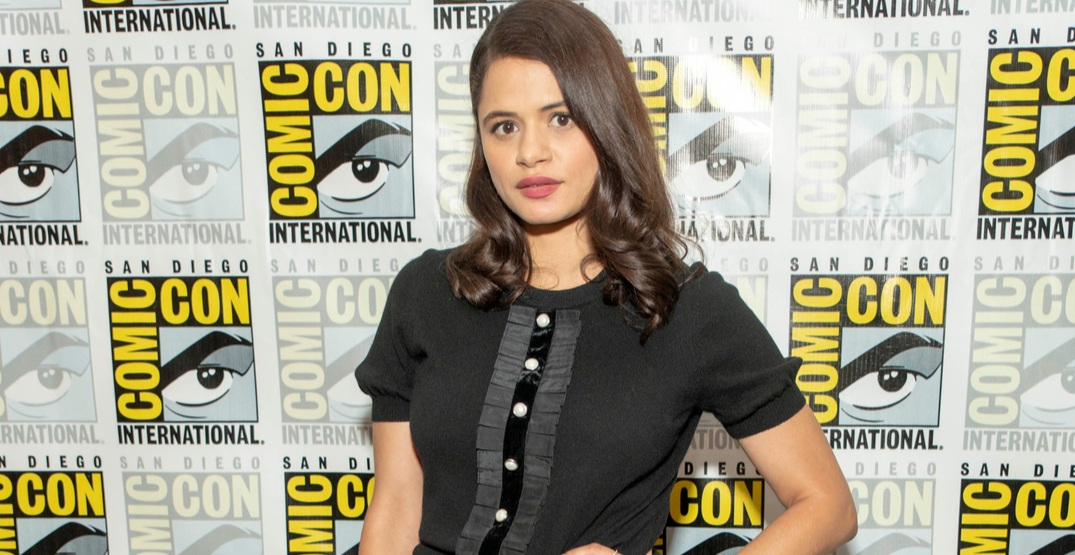 "Melonie Diaz attends CW ""Charmed"" press room at Comic Con 2018, San Diego, California on July 19, 2018"