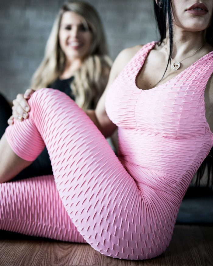 This trendy Brazilian-made apparel has anti-cellulite technology
