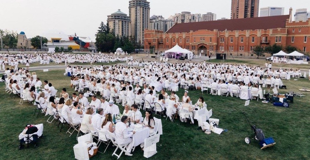 Dîner en Blanc Calgary returns with the biggest dinner party in the city