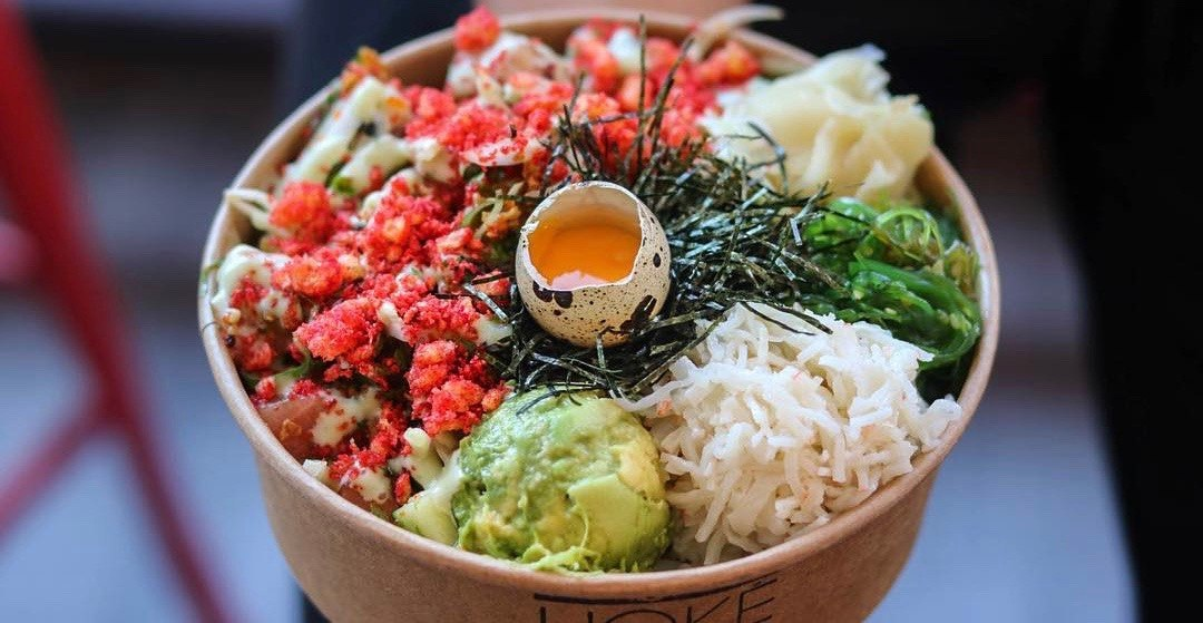 This Vancouver eatery is making Flamin' Hot Cheetos poke