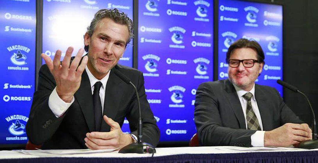 Did the Vancouver Canucks fire Trevor Linden or did he step down?