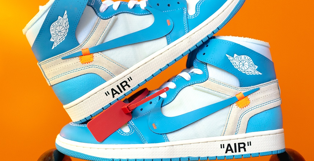 Win a pair of UNC Off-White Air Jordan 1 sneakers