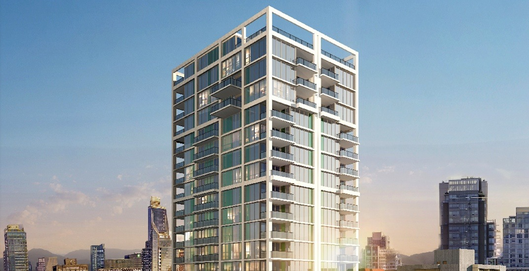 32-storey residential tower approved for downtown Vancouver's West End
