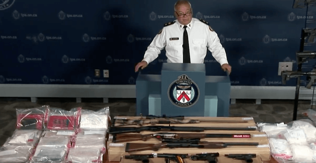 Months-long investigation nets $5M+ worth of drugs, 25 guns seized