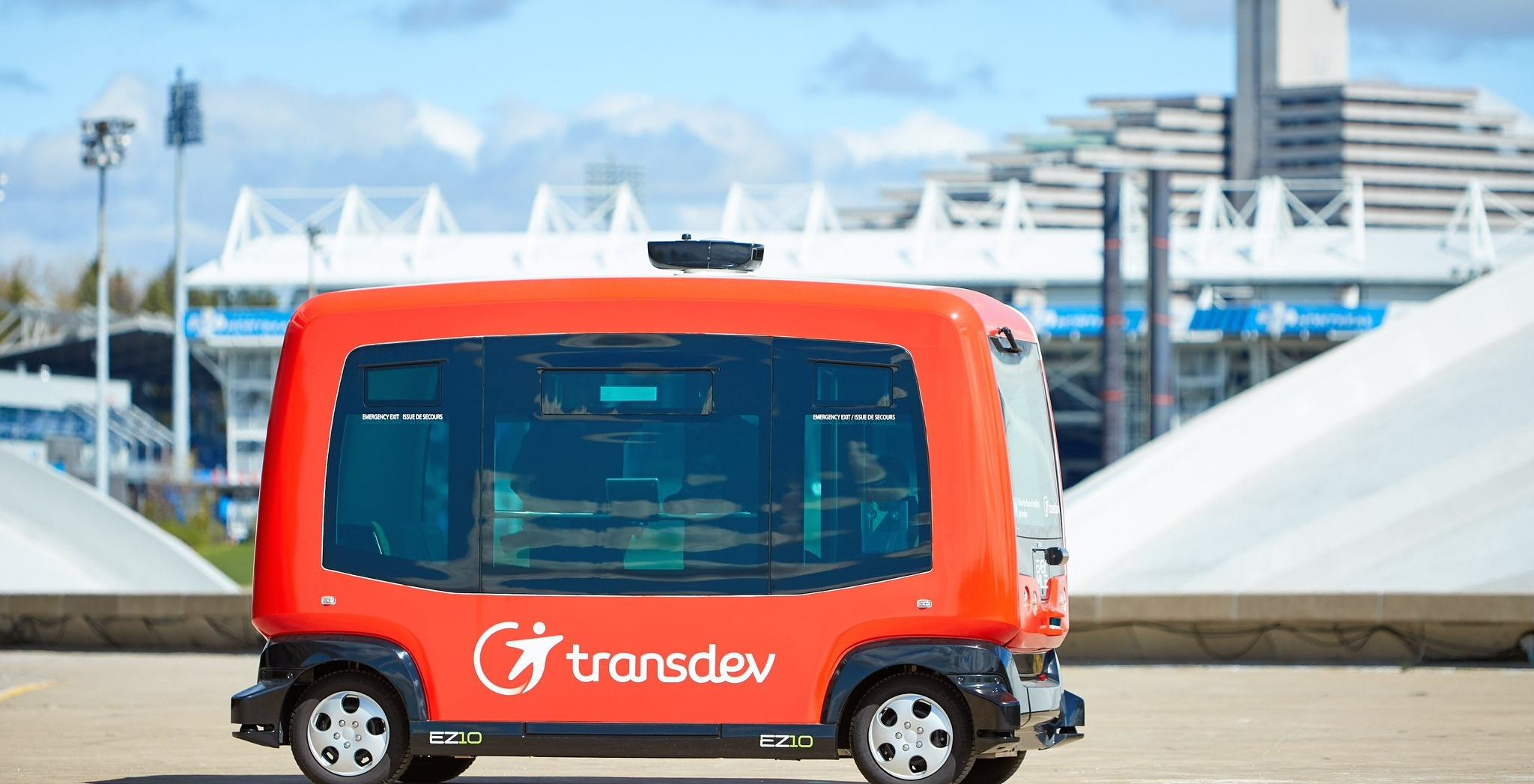 You can ride these fully automated buses for FREE in Montreal until August