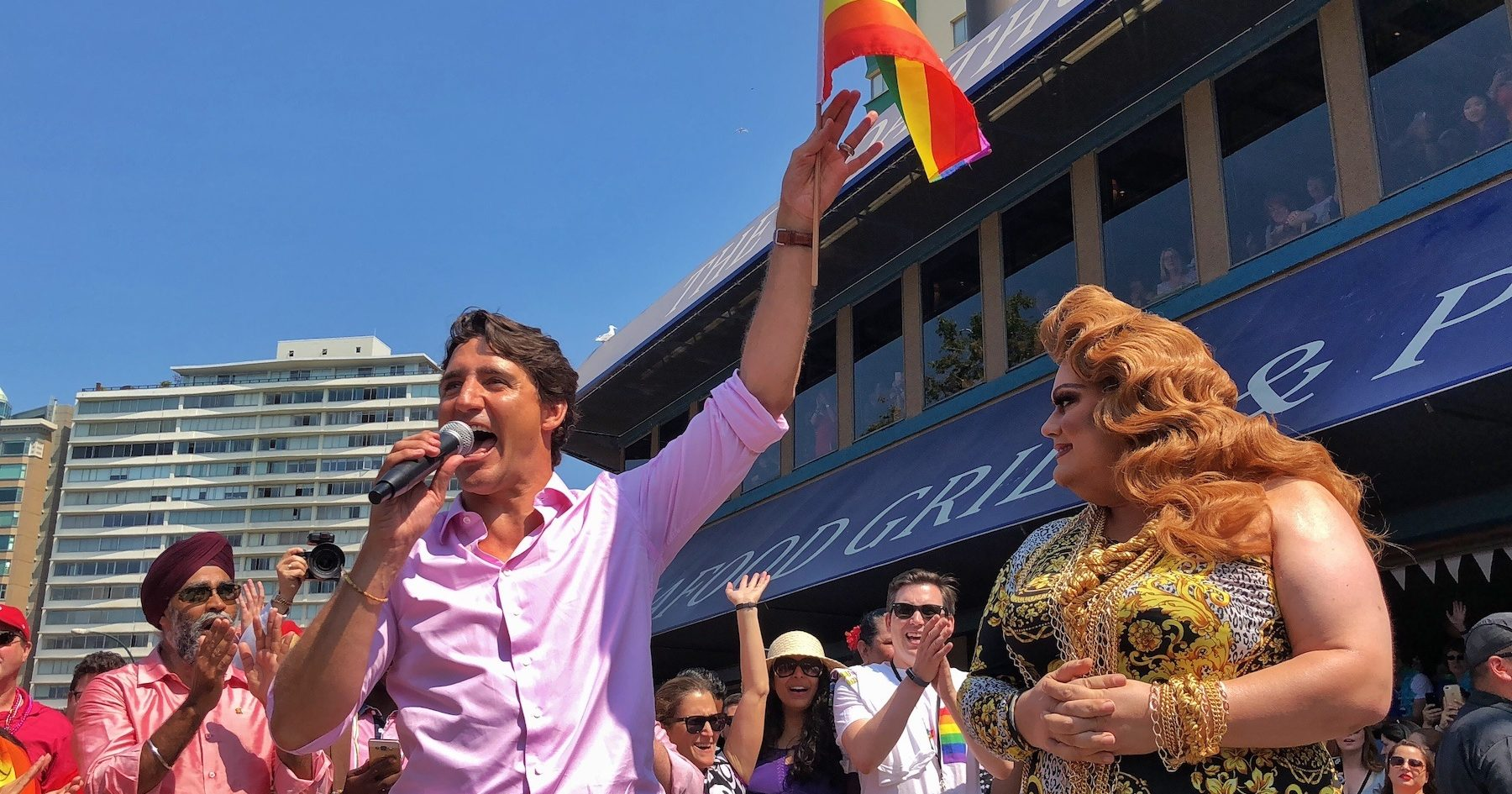 Prime Minister Justin Trudeau to march in Vancouver Pride Parade 2019