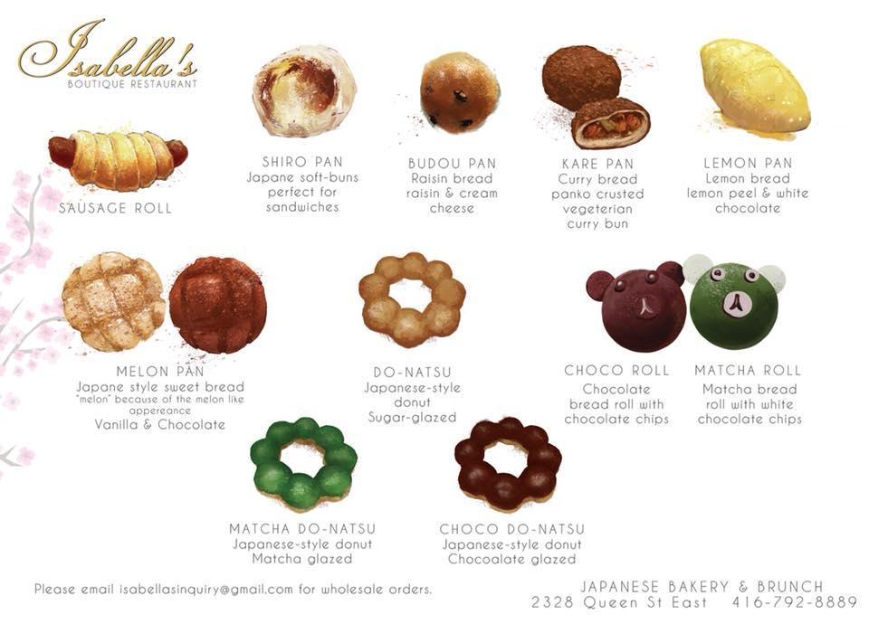 Isabella's Boutique Restaurant mochi doughnuts