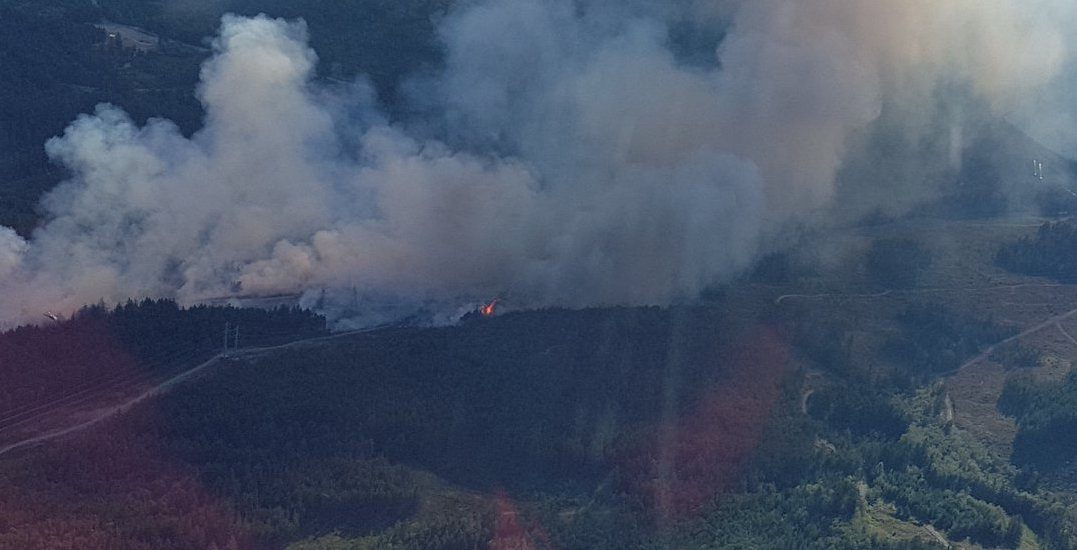 Nanaimo declares state of emergency amidst 107-hectare wildfire