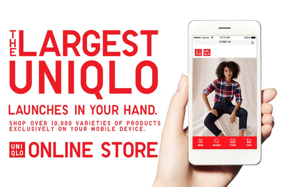 dd2c4314b7 UNIQLO Canada officially launches mobile shopping