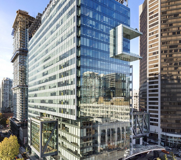 Downtown Vancouver: Downtown Vancouver's Telus Garden Has Been Sold To An