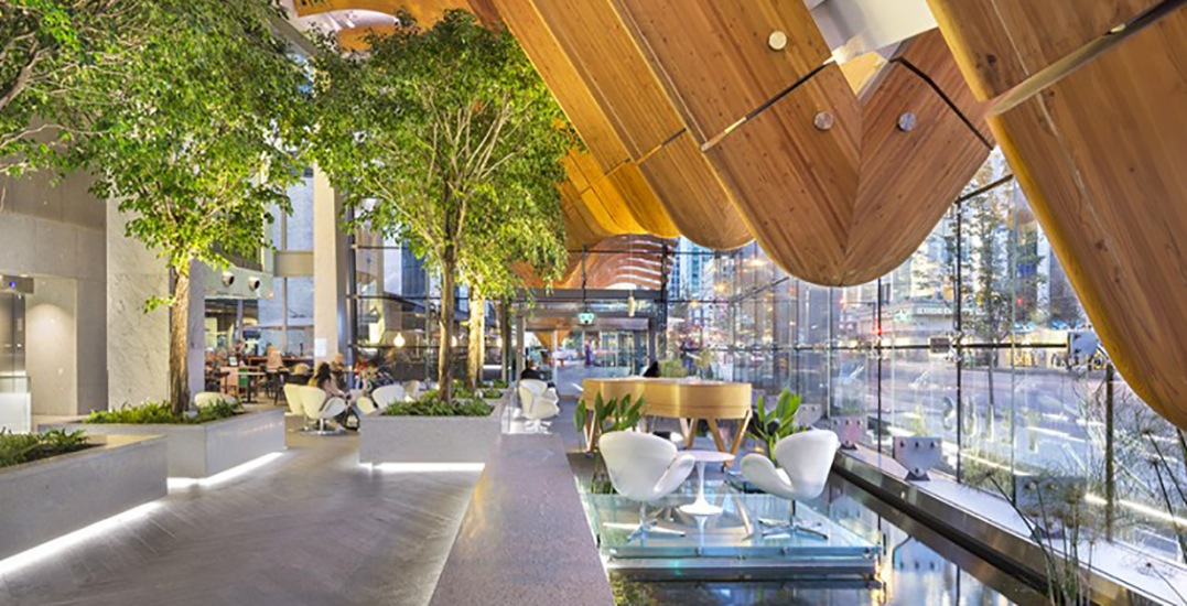 Downtown Vancouver's Telus Garden has been sold to an unknown buyer