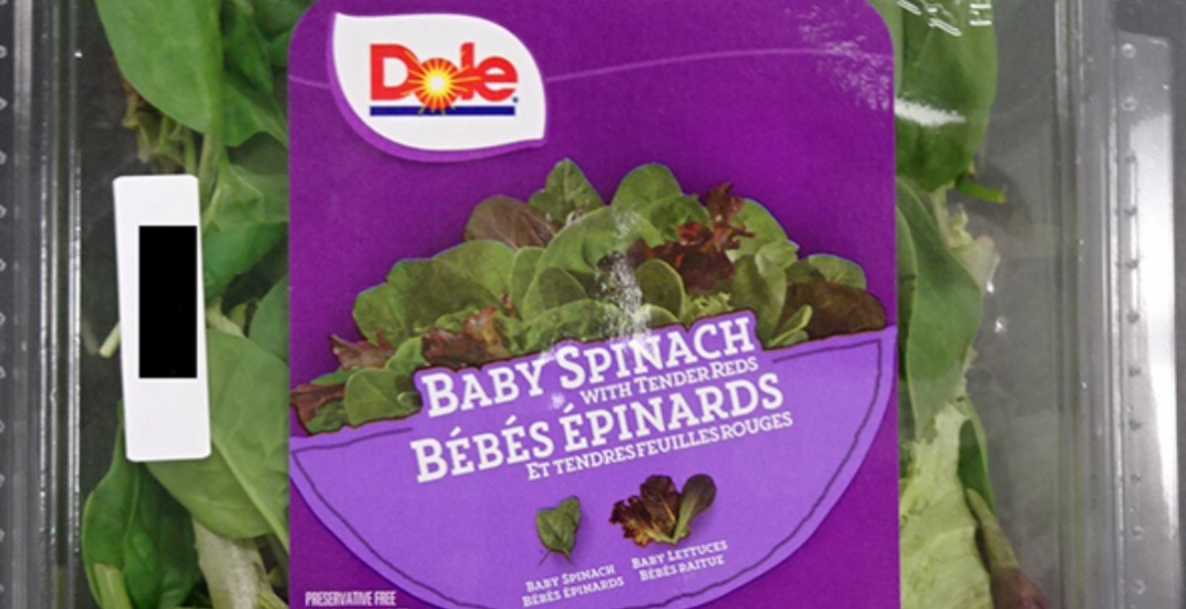 Recall issued for Dole brand baby spinach due to possible Listeria contamination