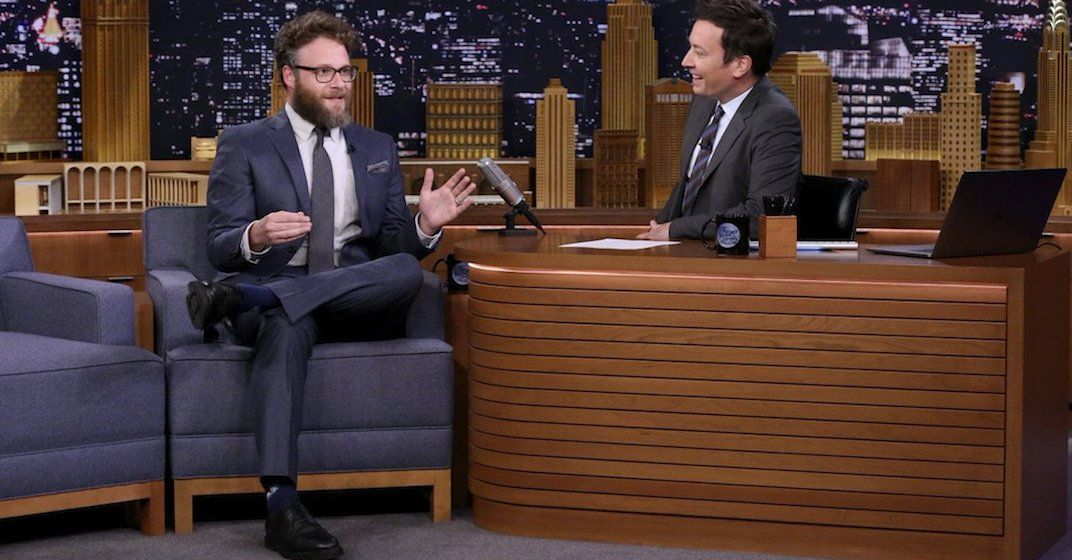 Rogen and fallon