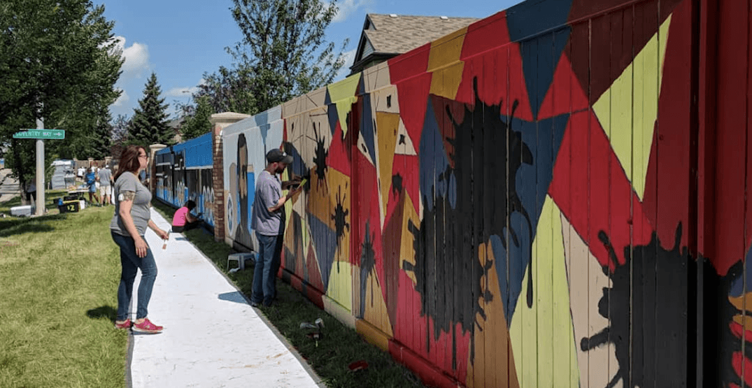Calgary is now home to the longest mural in all of Canada