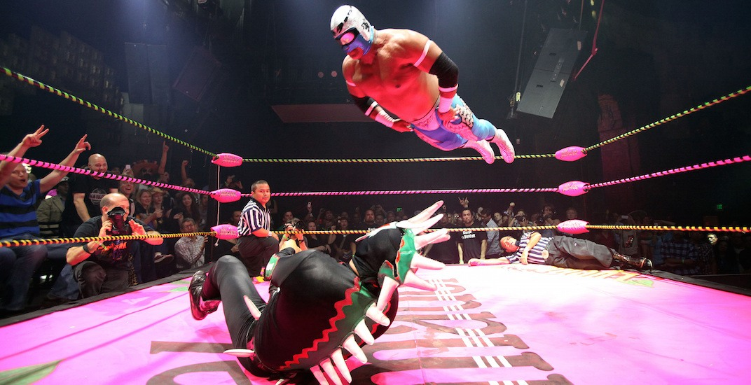 There's a Lucha Libre wrestling event taking place in Vancouver this weekend
