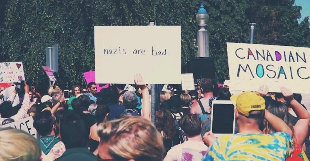 Anti hate rally