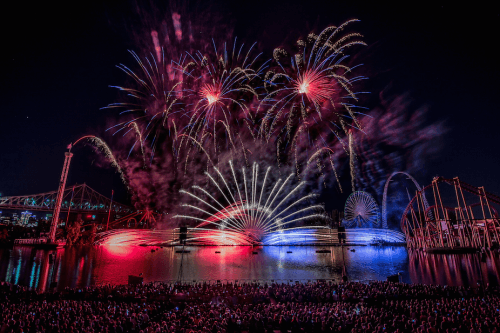 Montreal's International Fireworks