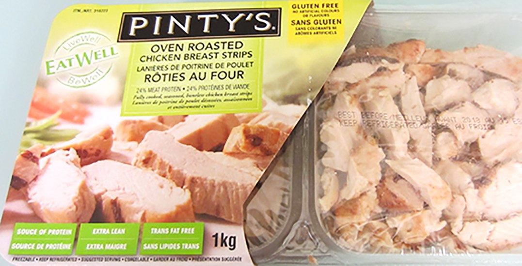Pinty's chicken breast strips recalled due to possible Listeria contamination