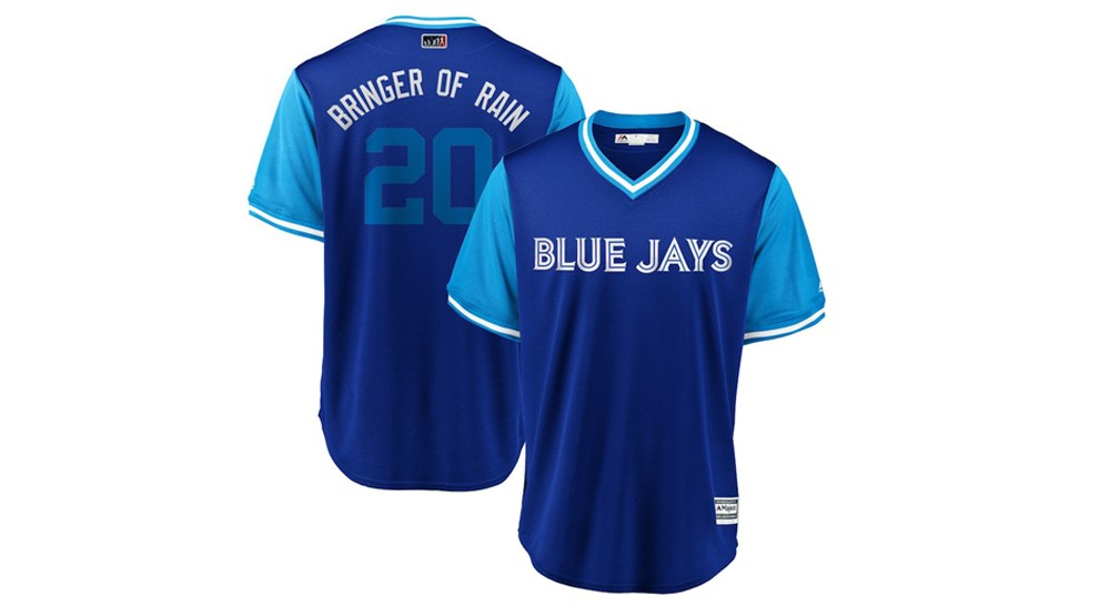 9605a6c80 Blue Jays reveal complete list of Players  Weekend nicknames